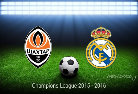 Shakhtar vs Real Madrid, Champions League 2015 ¡En vivo por internet!