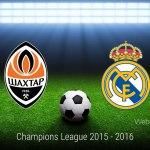 Shakhtar vs Real Madrid, Champions League 2015 ¡En vivo por internet!