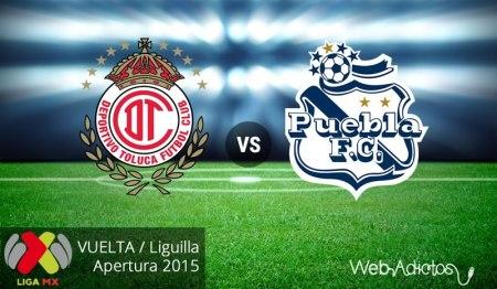 Toluca vs Puebla, Liguilla del Apertura 2015 | Partido de vuelta