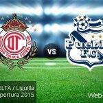 Toluca vs Puebla, Liguilla del Apertura 2015 ¡En vivo por internet! | Partido de vuelta