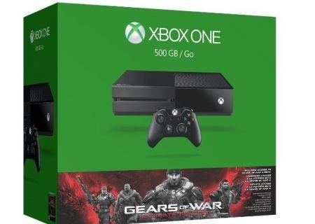 Oferta del día en el Buen Fin de Amazon: Consola Xbox One 500Gb + Gears of War Ultimate Edition Bundle