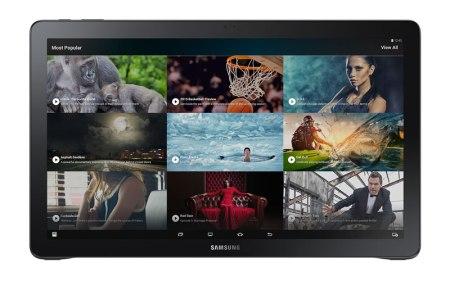 Samsung Galaxy View llega a México, entretenimiento en cualquier lugar