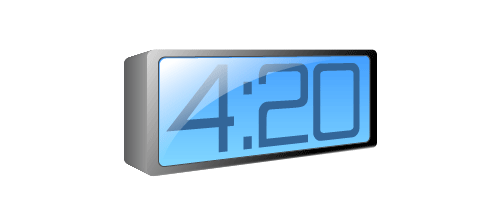 3D-Blue-LCD-Alarm-Clock---Illustrator-Tutorial