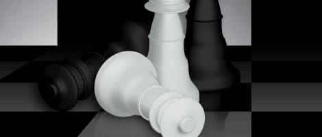 Create-a-Checkered-3D-Chess-Figure-Scene