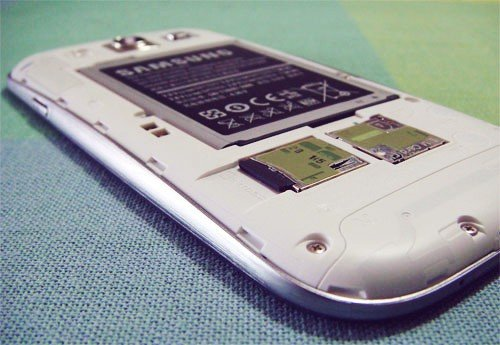 Samsung Galaxy s3 with Micro SD Card