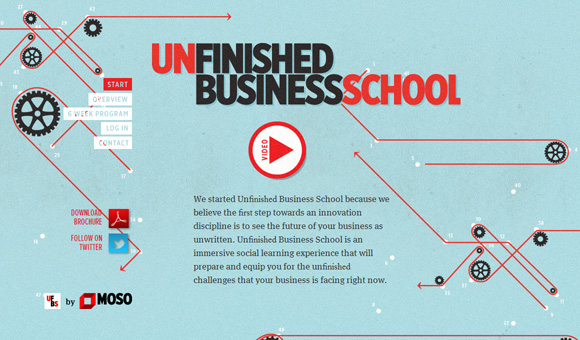 Un?nished Business School