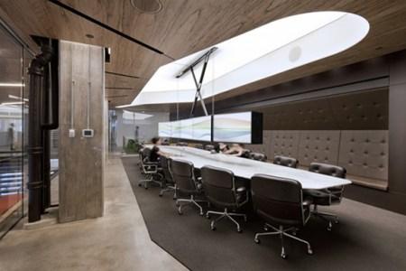01 wooden office interior design