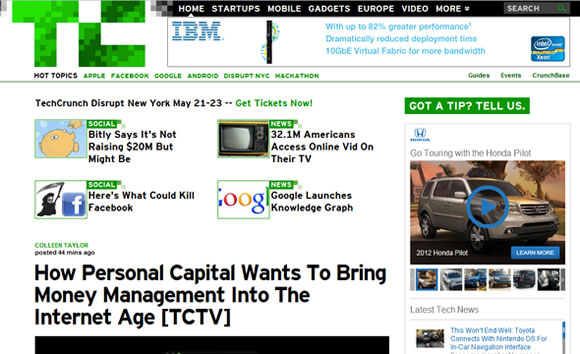 TechCrunch startups and Silicon Valley News