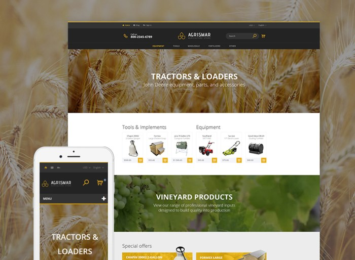 Agrismar - Agriculture Store PrestaShop Theme
