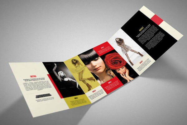 12 Best Tri Fold Brochure Templates For InDesign 2018 Square Trifold Brochure
