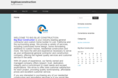 bigblueconstruction.com