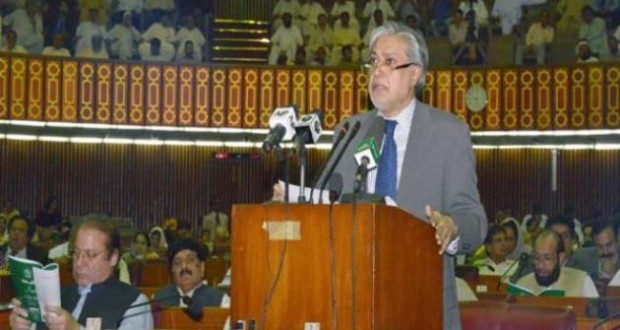 Finance Minister Ishaq Dar Presents Budget 2015 – 2016