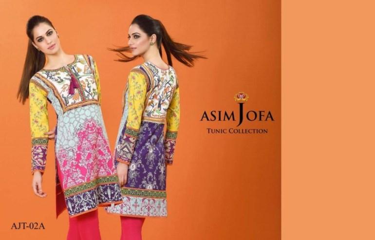 Asim Jofa Tunic Kurti Spring Summer dresses 2016
