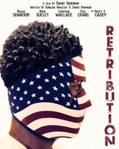 The poster of Retribution. Contributed Photo
