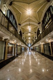 The inside of Webster's newest downtown campus, the Arcade Building. Jordan Palmer | The Journal