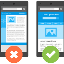 Mobile vs Non Mobile Website