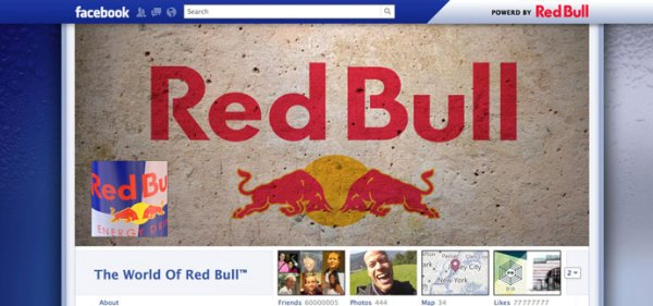 18 unique and creative facebook timeline profile designs 161 40 Creative Examples of Facebook Timeline Designs