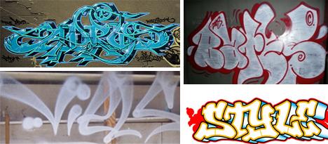 graffiti lettering styles
