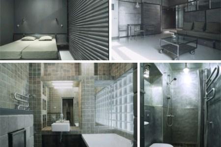 intense modern metal apartment