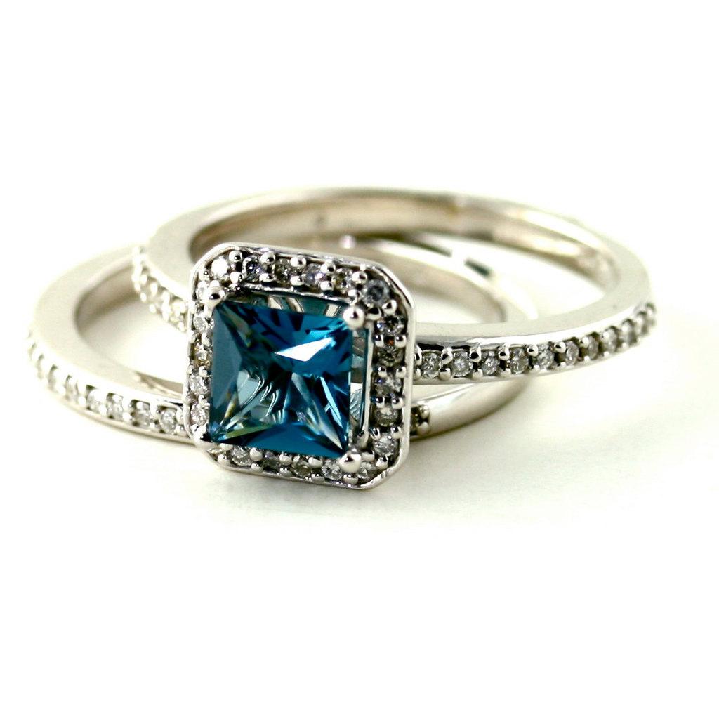 blue topaz and diamond engagement rings *NkAyQUHMgfkhfrkkG*acsZS*pBfJDQ blue topaz wedding band Blue
