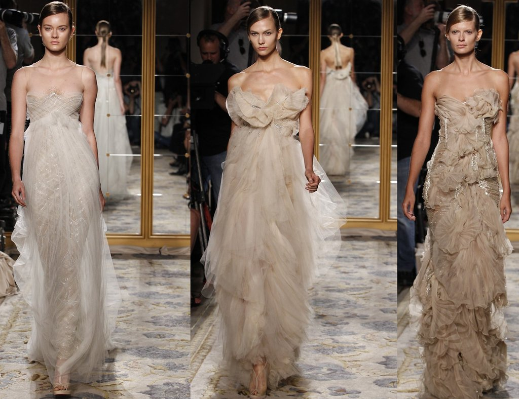 nude toned marchesa wedding dresses with beading and illusion fabric marchesa wedding dress Nude toned Marchesa wedding dresses with beading and illusion fabric