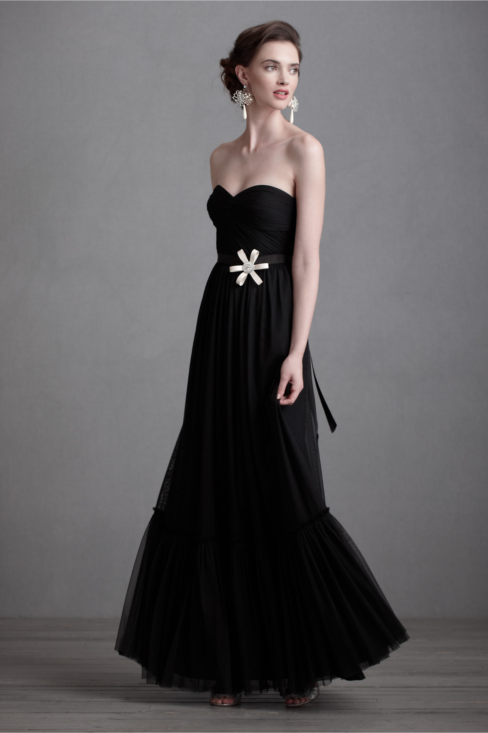 weddings with black bridesmaid dresses black dresses for weddings Weddings With Black Bridesmaid Dresses 23