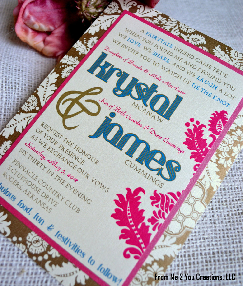 images of unique wedding invitations unique wedding invitations fuchsia gold blue wedding invitations unique wedding stationery