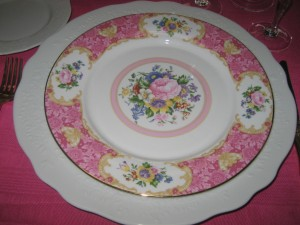 china for shabby chic look