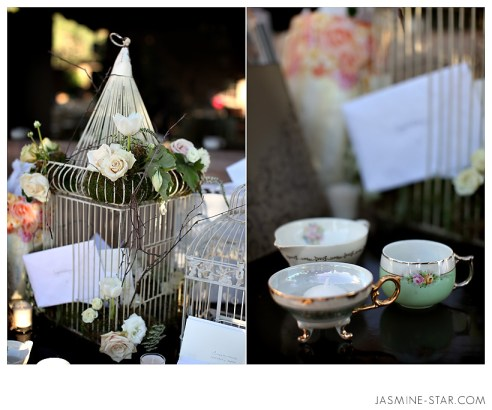 Shabby Chic Wedding Decor Details