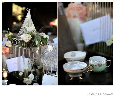 Shabby Chic Wedding Decor Details