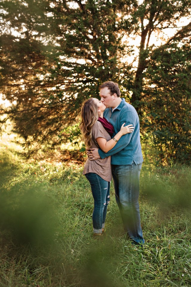 Nashville Wedding Photographer Fall Engagement Session
