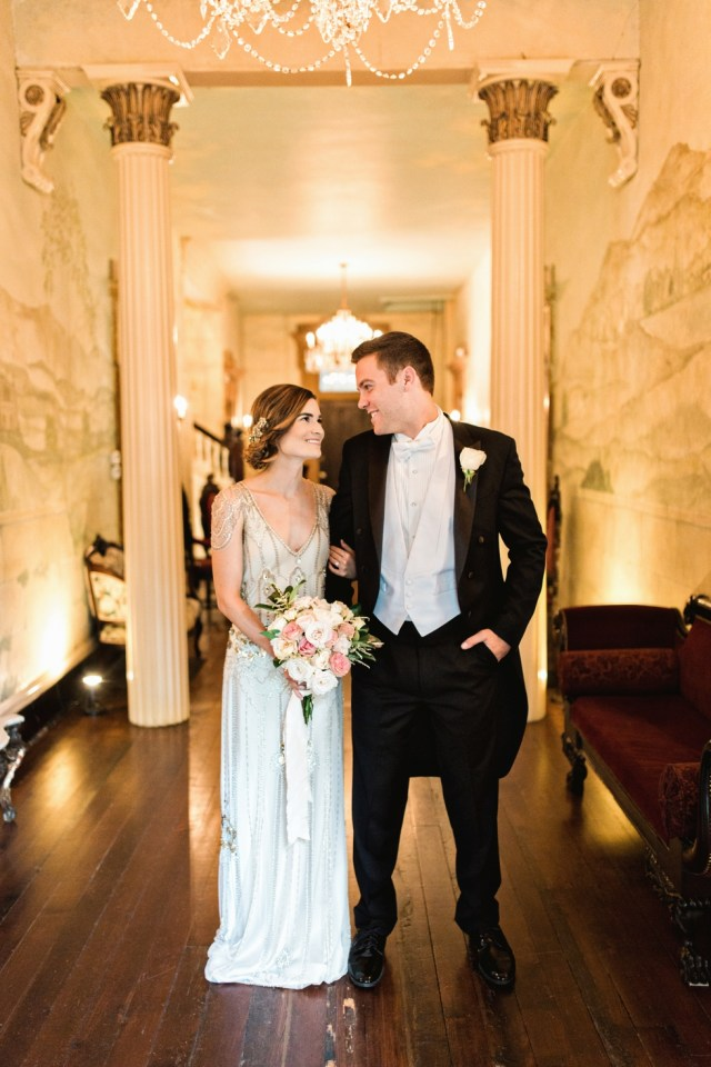 Twenties Inspired Wedding 1920s Wedding Riverwood Mansion