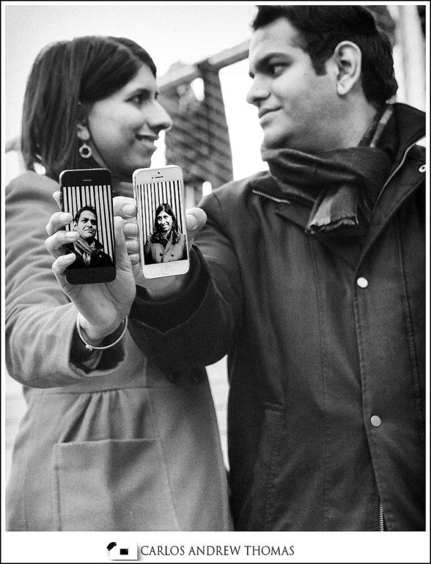 iphone,couple,engagement photography,new york,highline park,brooklyn photographer