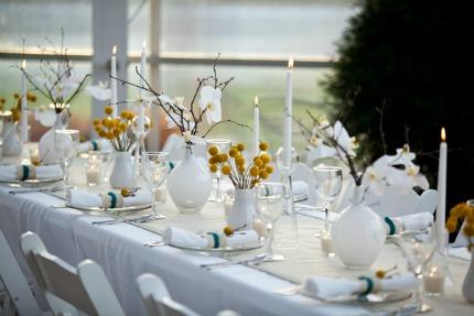 DIY Modern Tablescape via Elizabeth Anne Designs