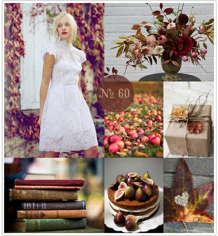 Autumn Aflame Mood Board via Limn & Lovely