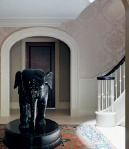 Nina Campbell Interiors Memories of 19th Century New York Elephant