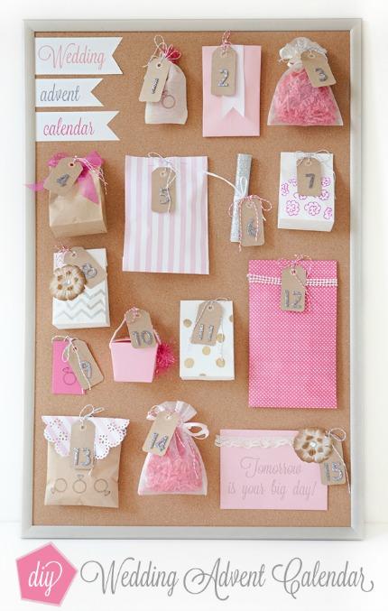 How to make a wedding advent calendar diy weddings for Ideas for advent calendars to make