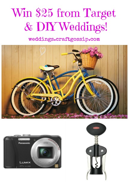 Target Wedding Giveaway via weddings.craftgossip.com