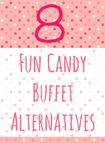 8 Fun Candy Buffet Alternatives via Intimate Weddings