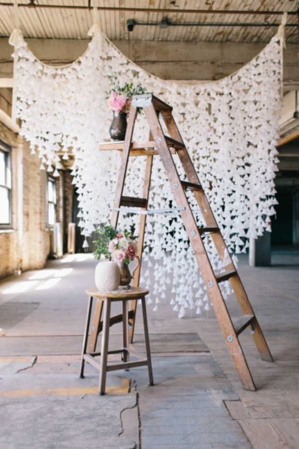 31 DIY Decor Ideas for Your Wedding via Bespoke Bride