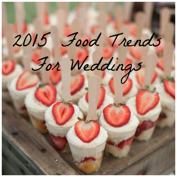Small Desserts For Weddings: 2015 Hot Wedding Trend And 30 Delicious Mini Desserts To