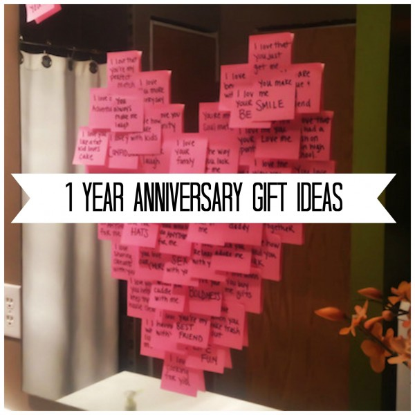 year anniversary gift ideas