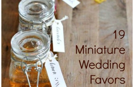 19 of the Most Adorable Wedding Favors