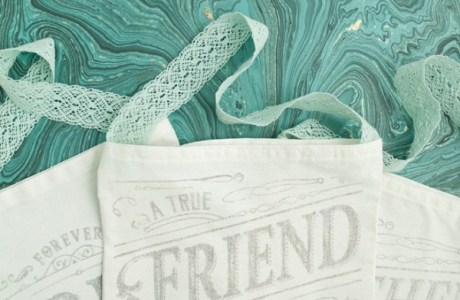 DIY Bridal Party Tote Bags