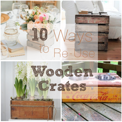 10 ways to use an old wooden crate diy weddings for Uses for old wooden crates