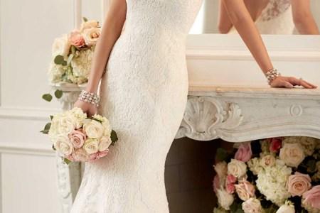 2016 chic beach wedding dresses stella york style 6125 f