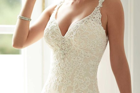 2016 chic beach wedding dresses stella york style 6142 t