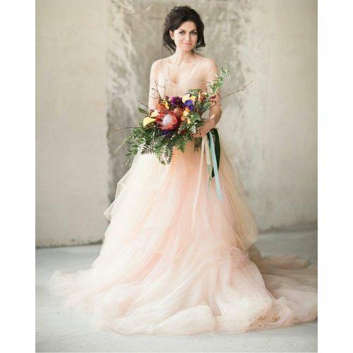 Medium Crop Of Non White Wedding Dresses