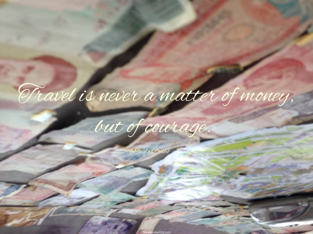 travel advice without money