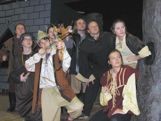 """The Somewhat True Tale of Robin Hood."" Crestwood HS Mantua Ohio"